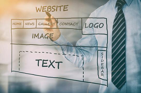 webデザインレイアウトイメージ