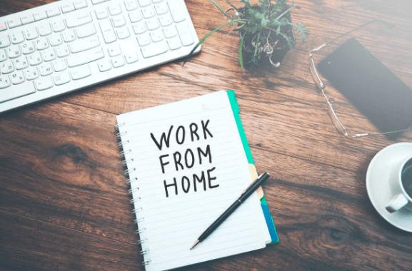 在宅での仕事