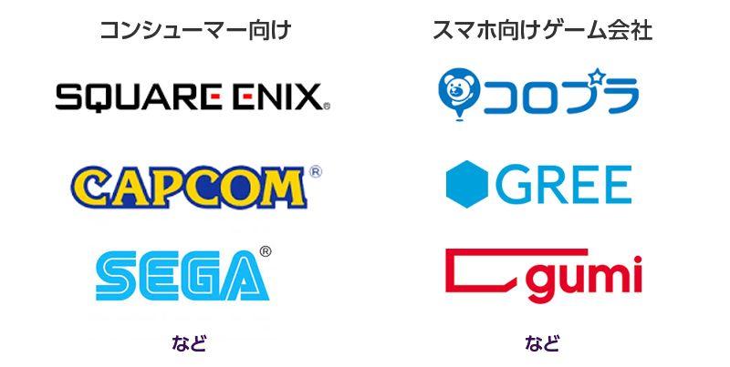 コンシューマー向けゲーム会社と、スマホ向けゲーム会社